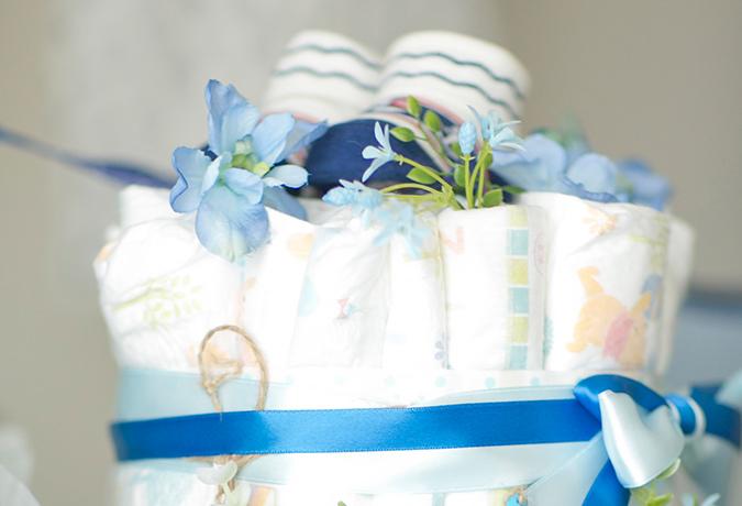 オムツケーキの画像