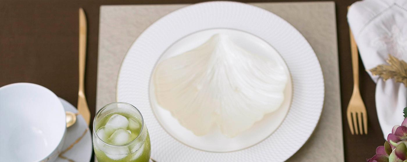 貝殻のお皿の画像