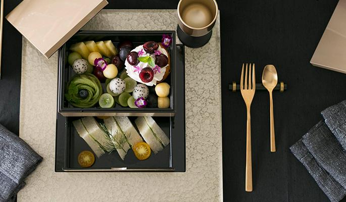 モダンスタイルの食器の画像
